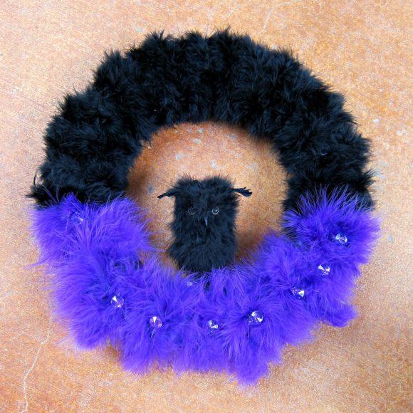 Glam Halloween Wreath