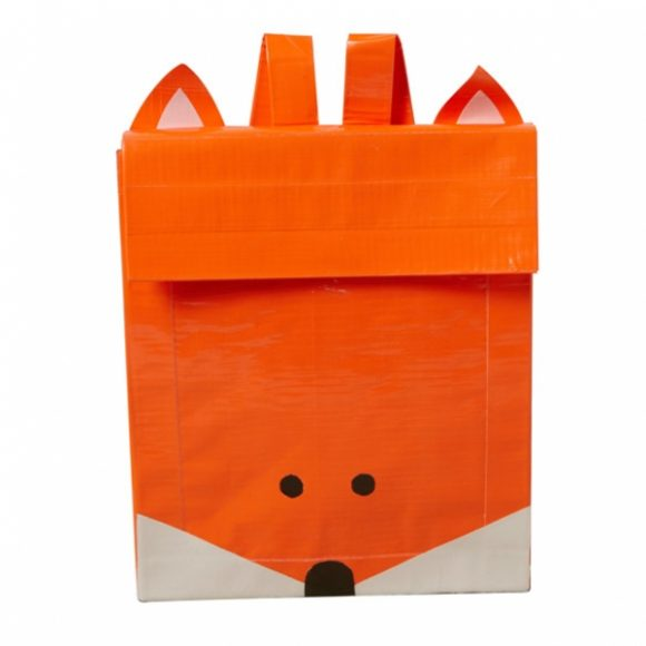 Duck Tape Fox Backpack - so cute