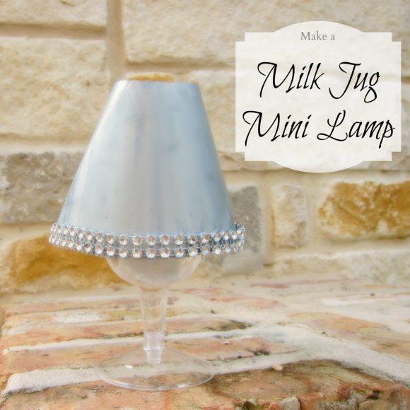 milk jug mini lamp
