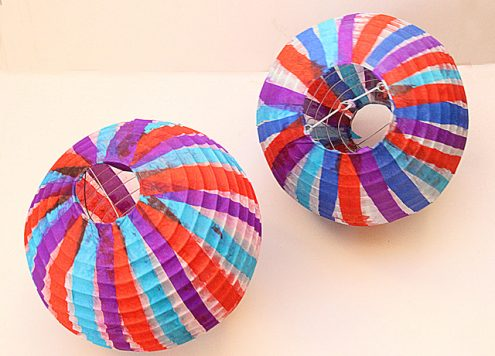 Revamped Paper Lanterns