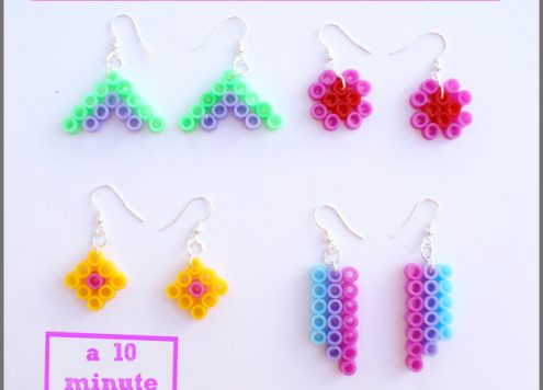 wearable melty bead craft