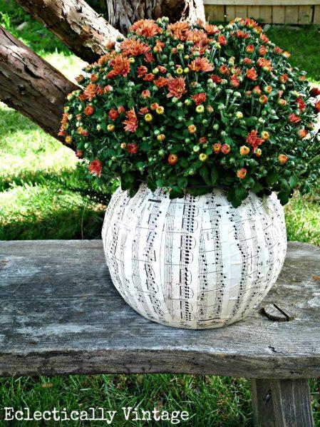 plastic pumpkin craft ideas