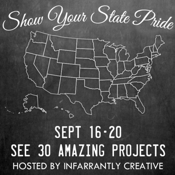 State Pride Tour: 30 bloggers, 30 tutorials, celebrating 30 states!