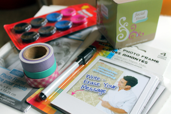 washi tape and locker accesories