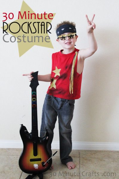 Easy Rockstar Costume