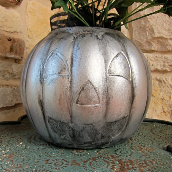 Dollar Pumpkin Makeover DIY