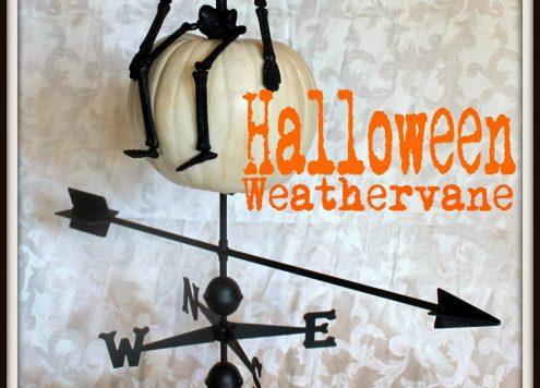 Halloween Weathervane