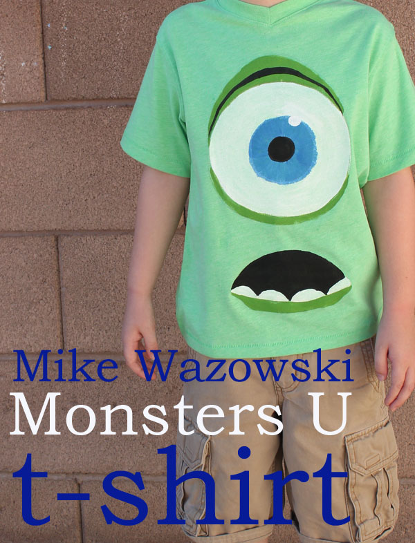 Monsters U T Shirt 30 Minute Crafts Dollar Store Crafts