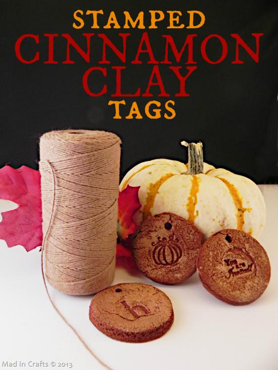 Make Cinnamon Clay Tags