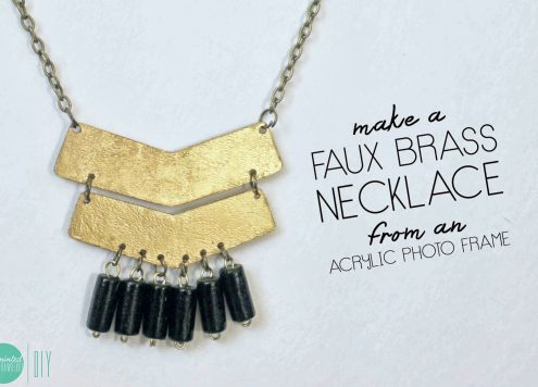 Aztec-inspired necklace