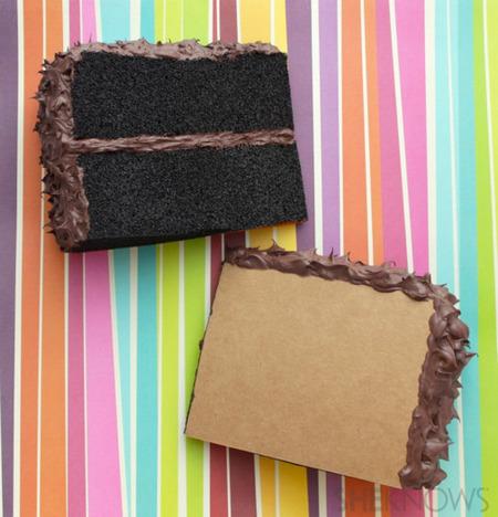 slice of cake postcards