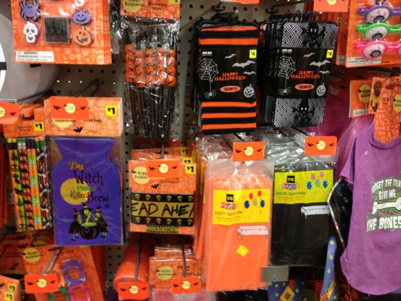 Dollar General Halloween section