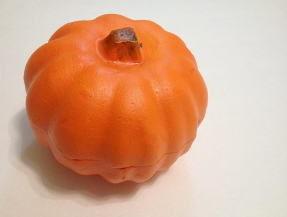 Dollar Store Foam Pumpkin
