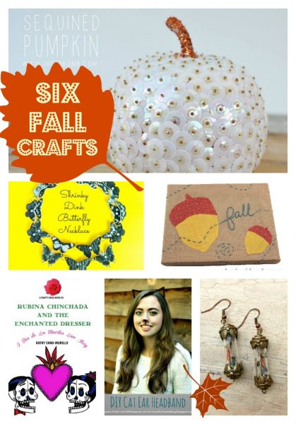 six fall crafts - dollar store crafts!
