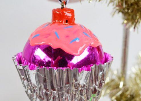 DIY Cupcake Ornaments