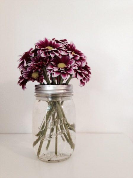 DIY Mason Jar Flower Frog