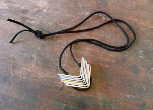 Make a Hardware Bracket Necklace