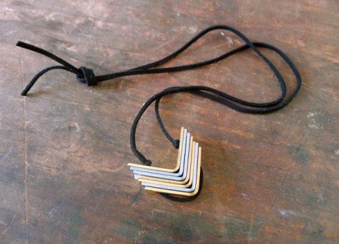 Make a Hardware Bracket Necklace
