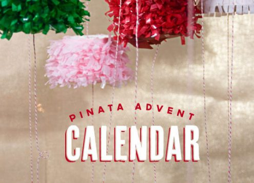Make a Pinata Advent Calendar