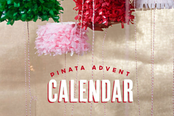 Make a Pinata Advent Calendar