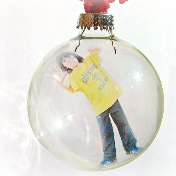 Trapped in ornament DIY