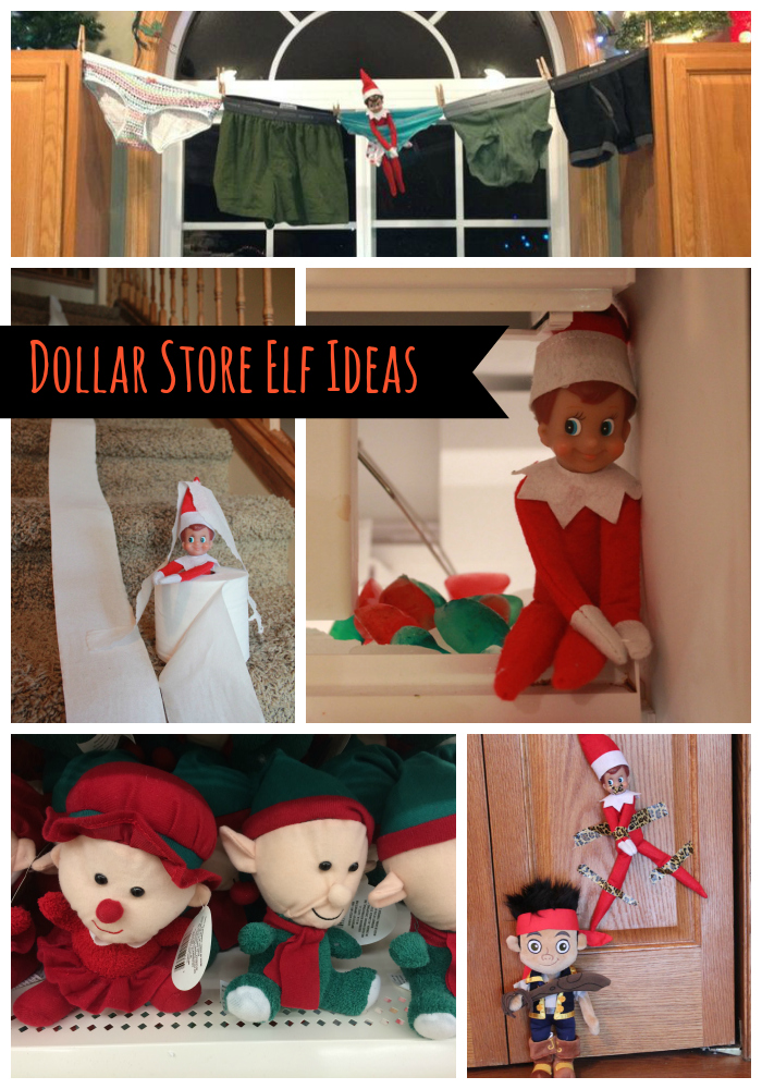 dollar store elf ideas
