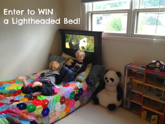Enter to win a Lightheaded Bed from Dollar Store Crafts!