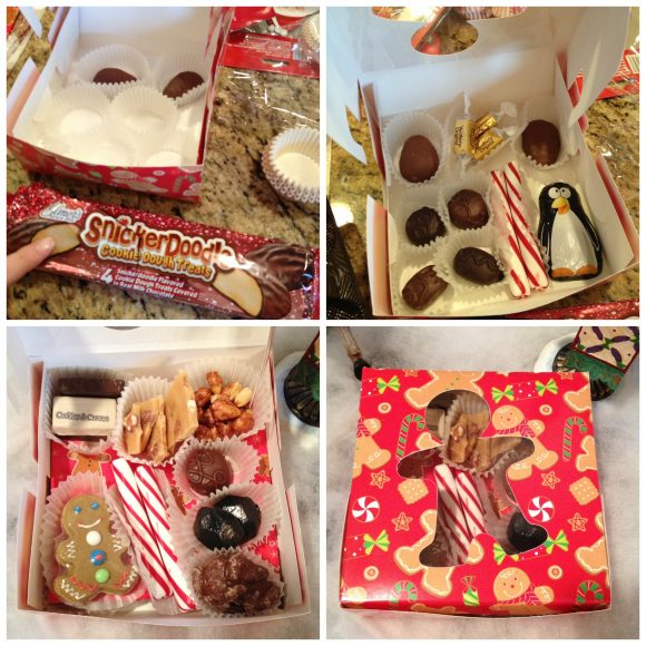 Assembling a custom dollar store treat box