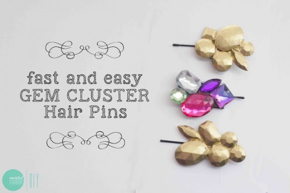 gem cluster pin tutorial
