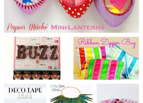 6 crafty ideas to share! from dollarstorecrafts.com