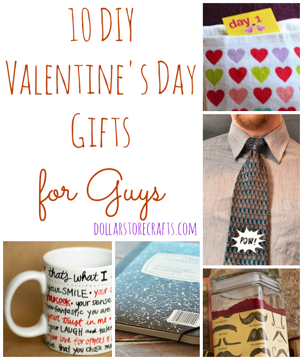 10 diy valentine 39 s day gifts for guys dollar store crafts