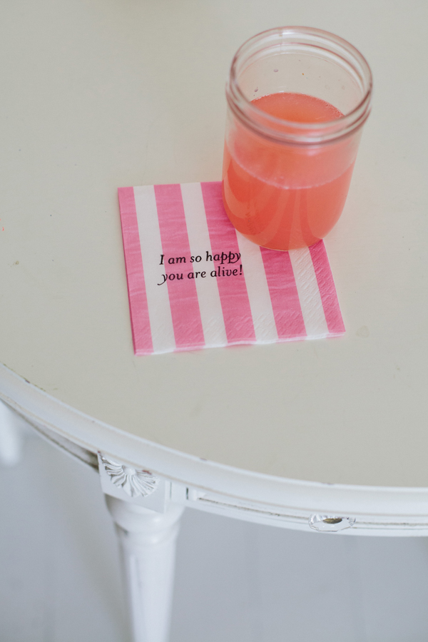 Make Personalized Party Napkins