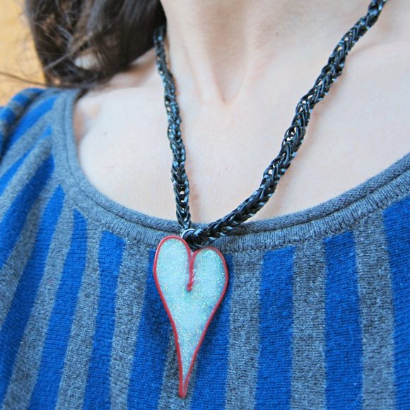 Dollar Store Crafts DIY Necklace