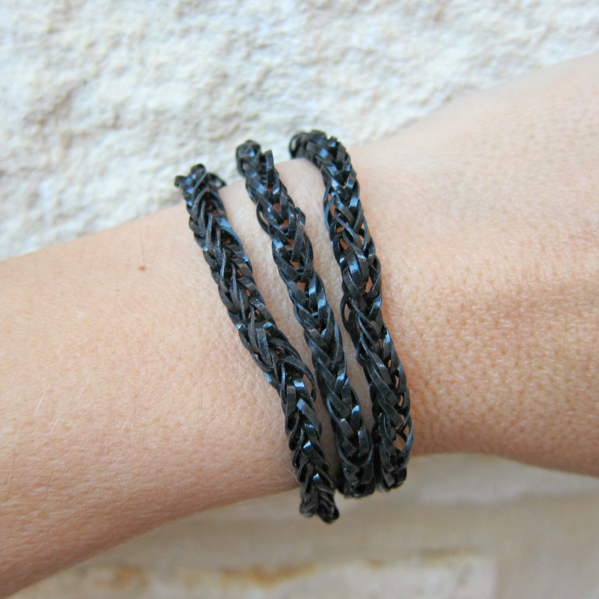 tutorial make rubber band jewelry without a loom dollar