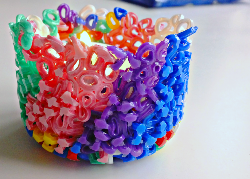 Make a Perler Bead Candle Holder