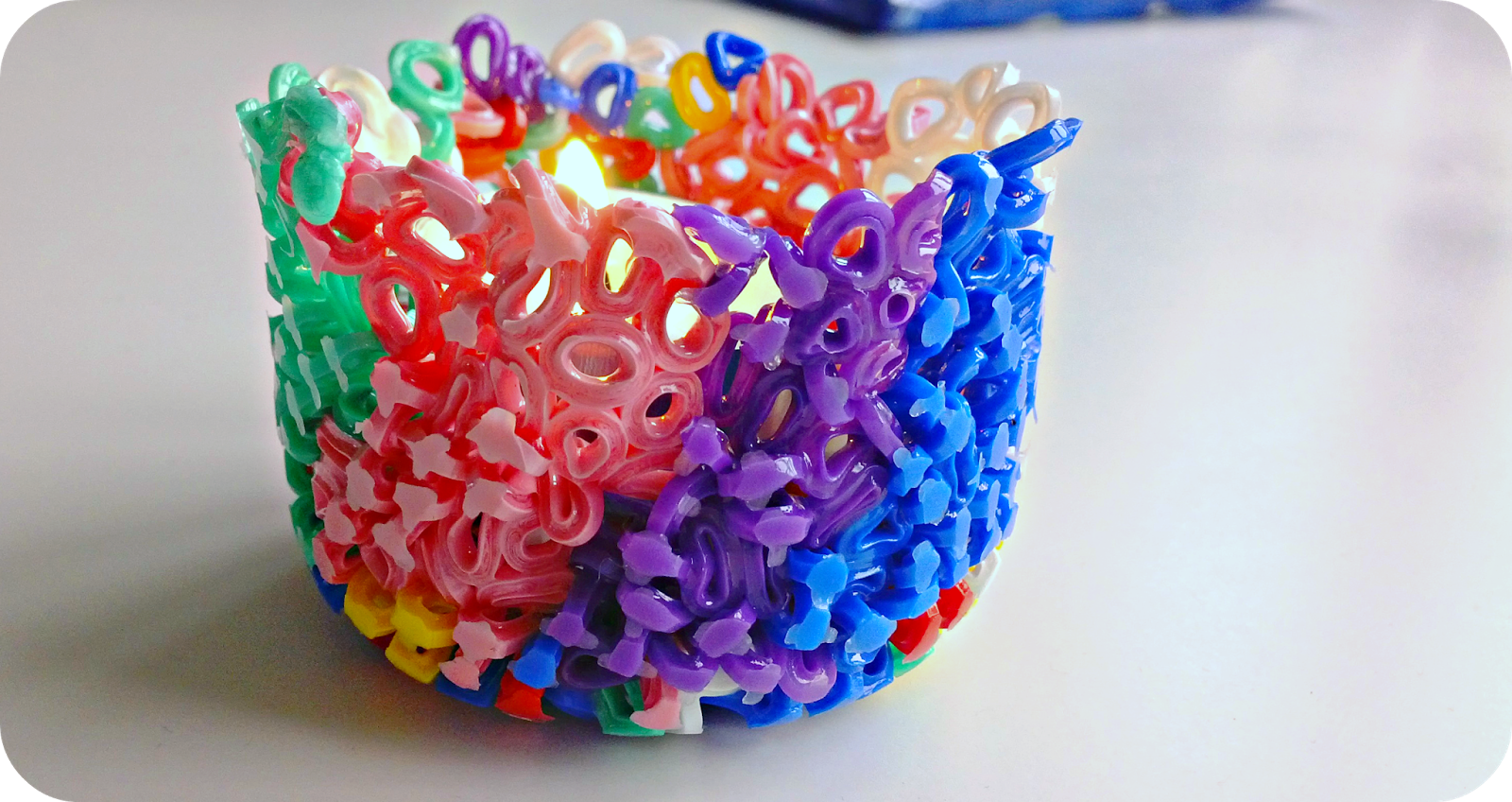 Make perler bead candle holders dollar store crafts for Beads for craft projects