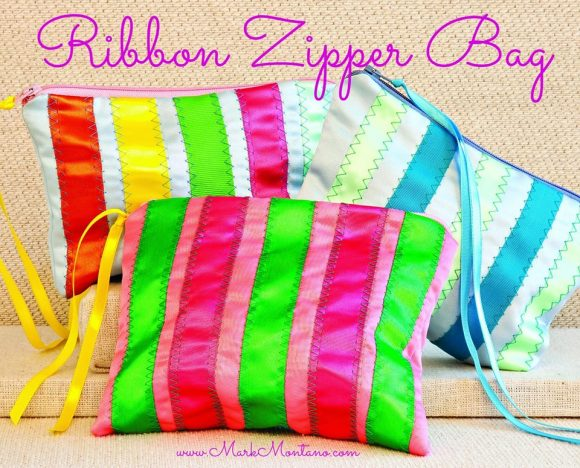 Ribbon Pouch Craft by MarkMontano.com