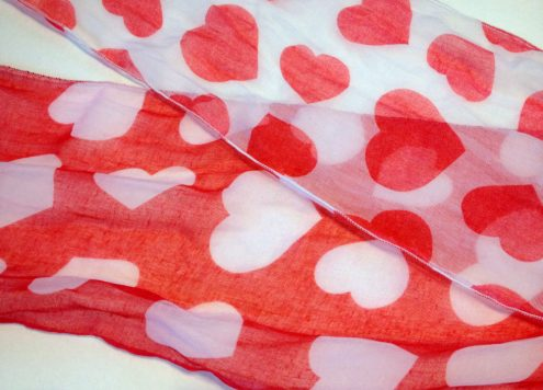 Valentine's Day Infinity Scarf