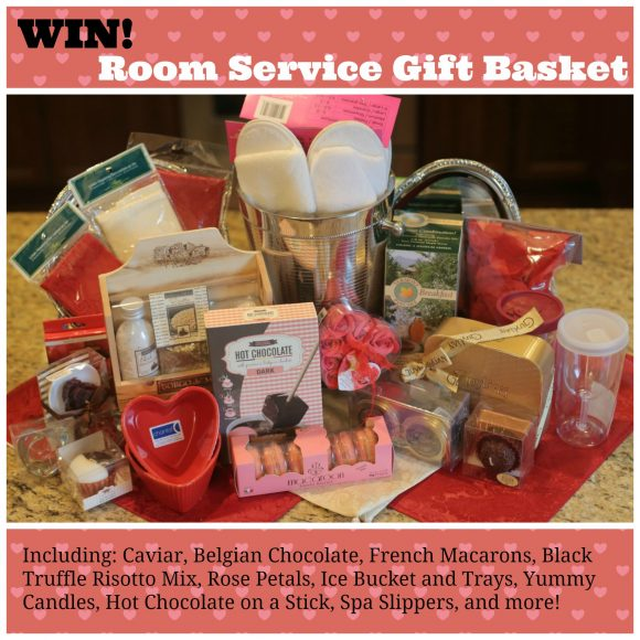 Win a Room Service Gift Basket - with caviar, black truffle risotto, and more!