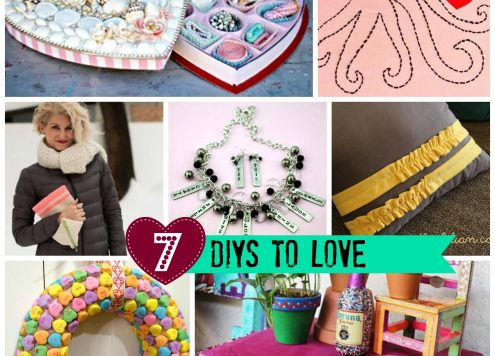 7 DIYs to Love from DollarStoreCrafts.com