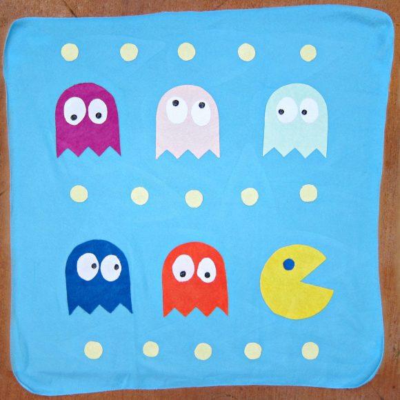 DIY Retro PacMan Blanket