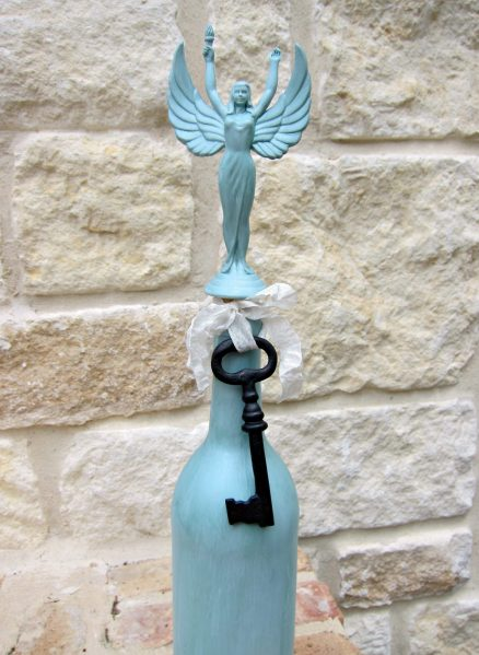 Dollar store craft: Turn a Trophy into a Decorative Bottle Topper