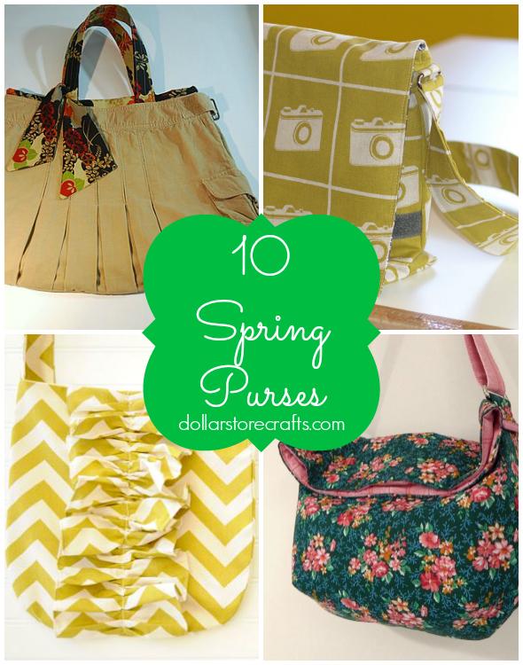 10 Spring Purses to Make
