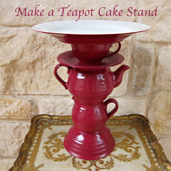 Teapot Dessert Stand
