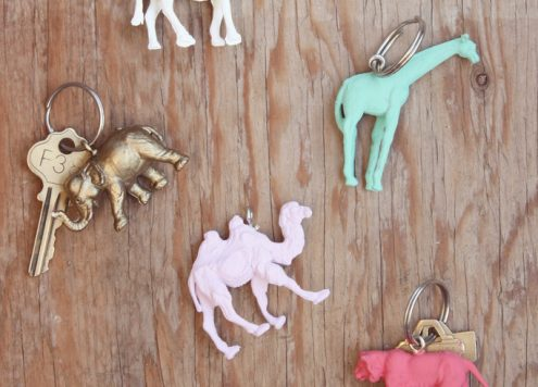Make Animal Keychains