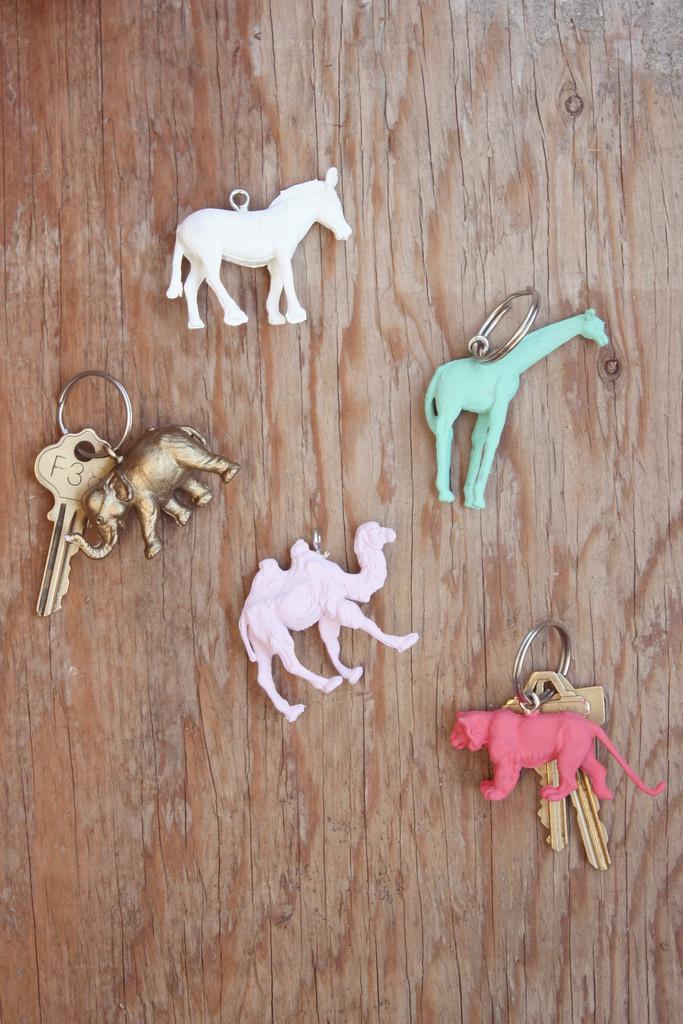 Make Animal Keychains 187 Dollar Store Crafts