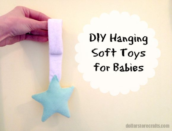 DIY hanging soft toys for babies