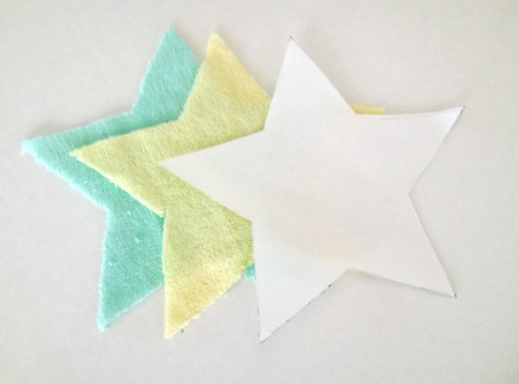 washcloth stars