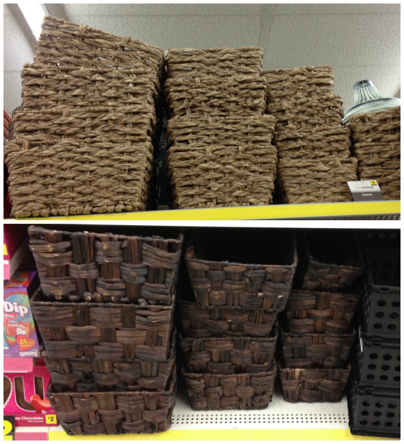 baskets at Dollar General