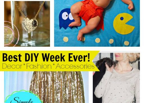 Best DIY Week Ever! 8 awesome projects to make this weekend
